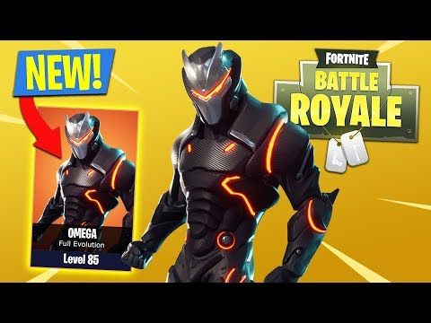 FORTNITE SEASON 4 OMEGA EVOLUTION UPGRADES!! (Fortnite Battle Royale)