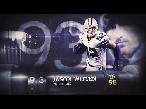 #93 Jason Witten (TE, Cowboys) | Top 100 Players of 2015