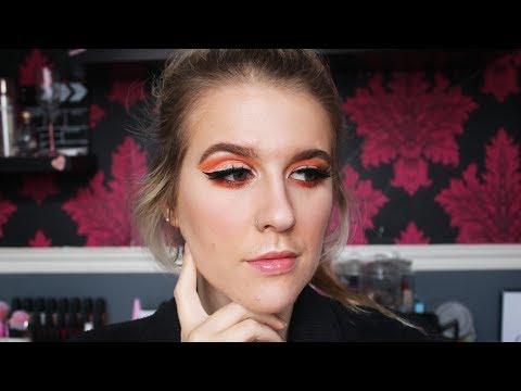Cute Wearable Halloween Makeup Look. thumbnail