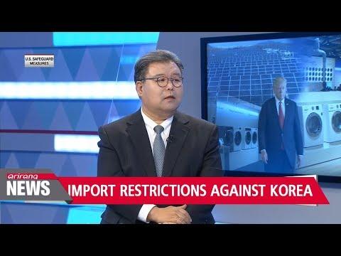 U.S. imposes safeguard measures against Korean washing machines and solar panels
