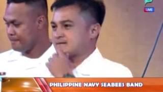 [Good Morning Boss] Panayam sa Philippine Navy Seabees Band [06|25|14]