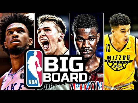 2018 NBA Draft: Big Board Top 10: Preseason Edition