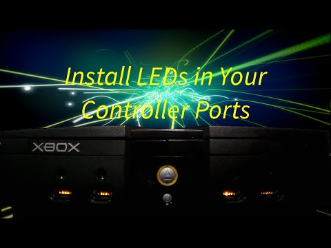 How To: Install LEDs in Your Xbox Controller Ports
