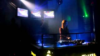 Live p.a DJ Vanda Verena with Sexy Dancer at Republic Positiva 17 05 14