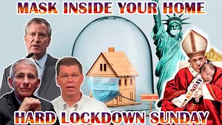 Melbourne & India HARD-LOCKDOWN SUNday. Wear Mask AT HOME. Fauci Autoimmune CHAOS Media Mind Control