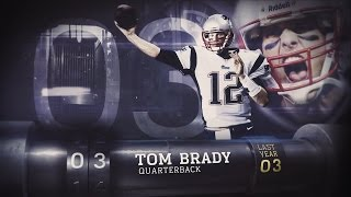 #3 Tom Brady (QB, Patriots) | Top 100 Players of 2015