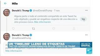 ¿Qué pasará con Trump si sigue publicando información engañosa cuando deje de ser presidente?