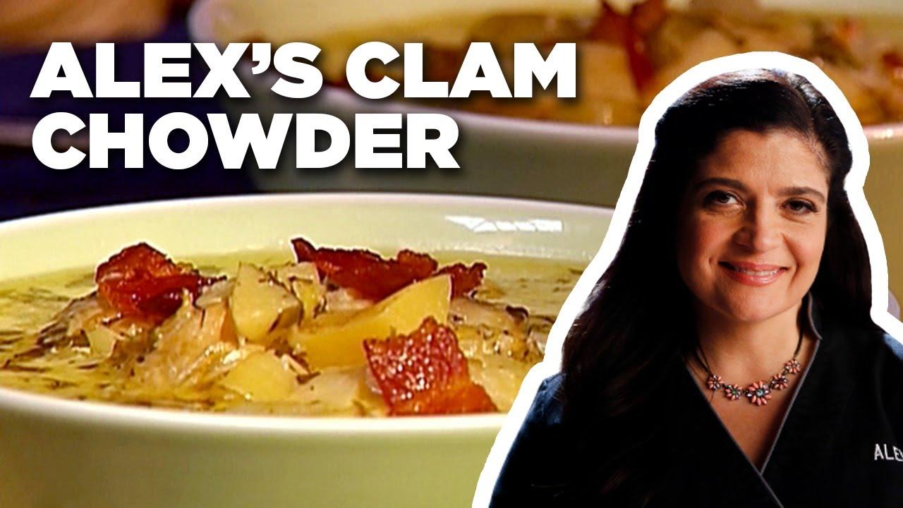 Alex Guarnaschelli's Clam Chowder | Alex's Day Off | Food Network