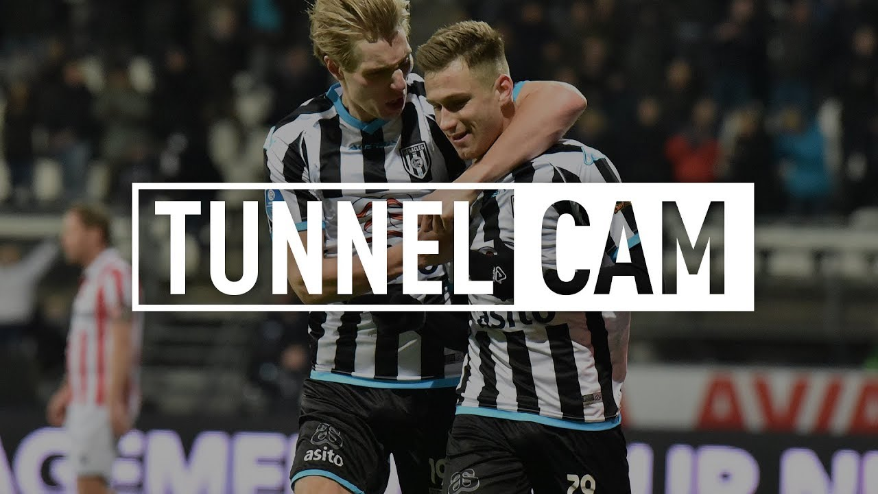 Heracles Almelo - Sparta Rotterdam 3-2 | 14-12-2017 | Tunnel Cam