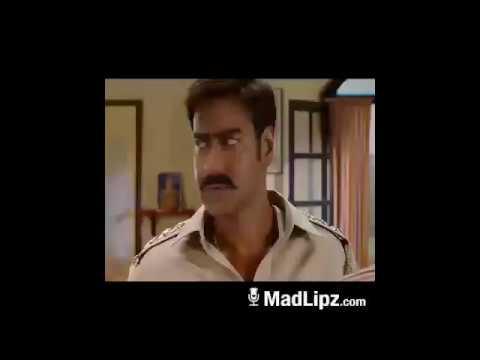 Singham dubbed comedy  (singham saharanpur ka  dubbed abuse)