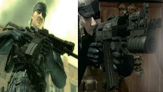 MGS4 - All Weapons
