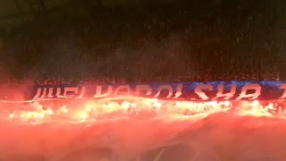 """""""Wielkopolska to nasz dom. Kolejorz dumą, sercem, krwią"""" Lech - Legia 0:2 (19.03.2016)"""