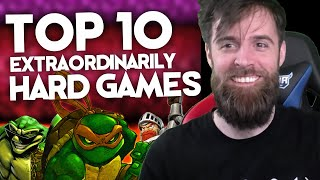 10 Extraordinarily Hard Games Ranked By Difficulty