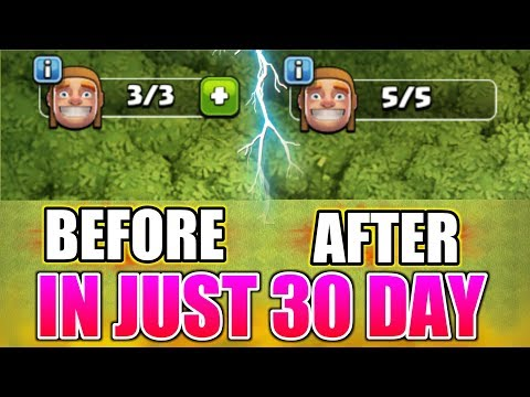 OMG😲GET 5 BUILDER AT TH8 IN 30 DAY | IT'S INCREDIBLE | TIPS TRICKS