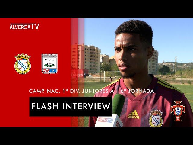 FC Alverca 5-0 UD Leiria   Flash Interview