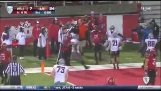 Vince Mayle - Washington State Football - WR - 2014 Utah Game
