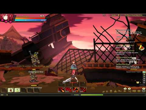 EPIC One Hit Kill Attack Elsword