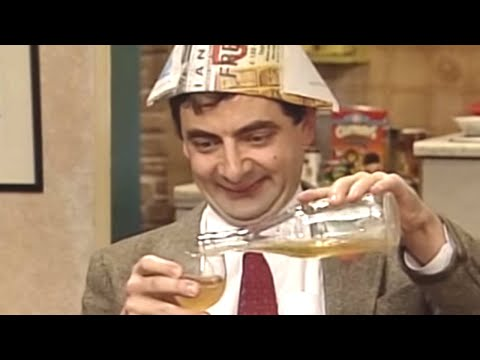 New Year with Bean | Funny Clip | Classic Mr. Bean