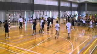20110828福大ハンド男子、秋季大会、名桜大学.wmv