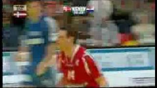 Højdepunkter fra EM-finalen Danmark-Kroatien 2008