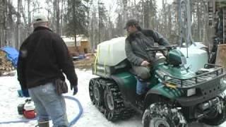 Birch Syrup Harvest Season in the Alaskan Bush