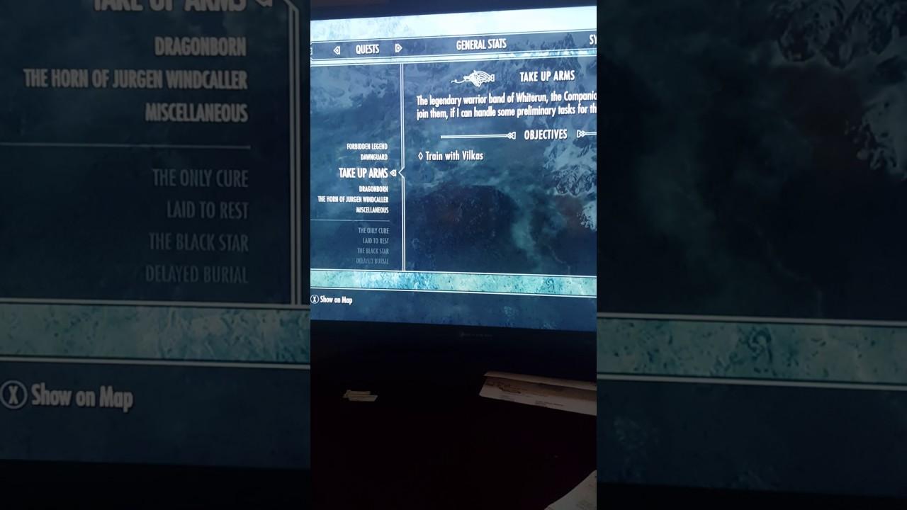 Skyrim remastered help companions Quest glitch