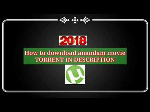 How to download ANANDAM MOVIE torrent 2018