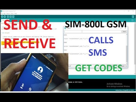 At Commands For Gsm Sim 800L