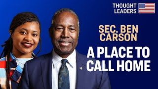 Fighting Homelessness: HUD Program Helps Foster Youth With Housing Like Family Would-Sec. Ben Carson