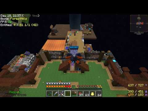 Minecraft - Project Ozone 2 #36: To The Moon!