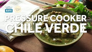 How to Make Pressure Cooker Pork Chile Verde