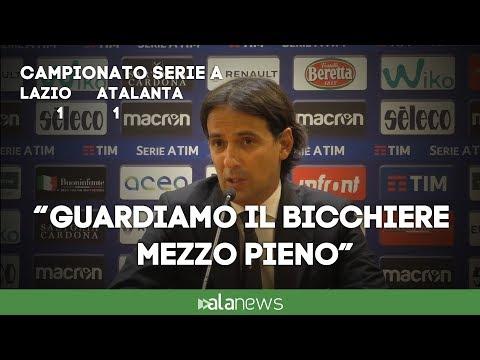 """Lazio-Atalanta, Inzaghi: """"Complimenti ai nerazzurri"""""""