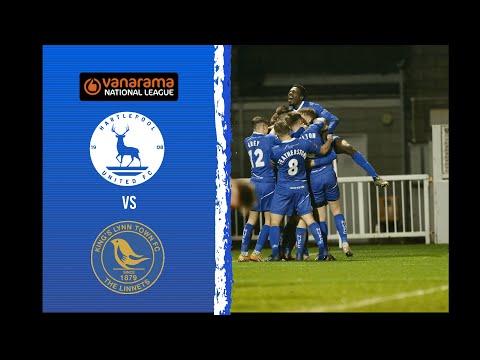 Hartlepool King's Lynn Goals And Highlights