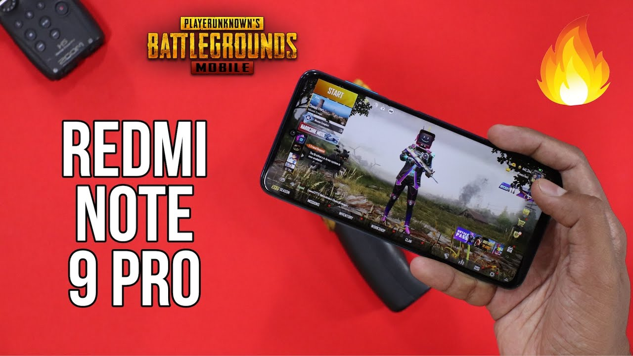 Redmi Note 9 Pro Gaming Review, PUBG Mobile Gameplay, Heating Test - Snapdragon 720G gaming