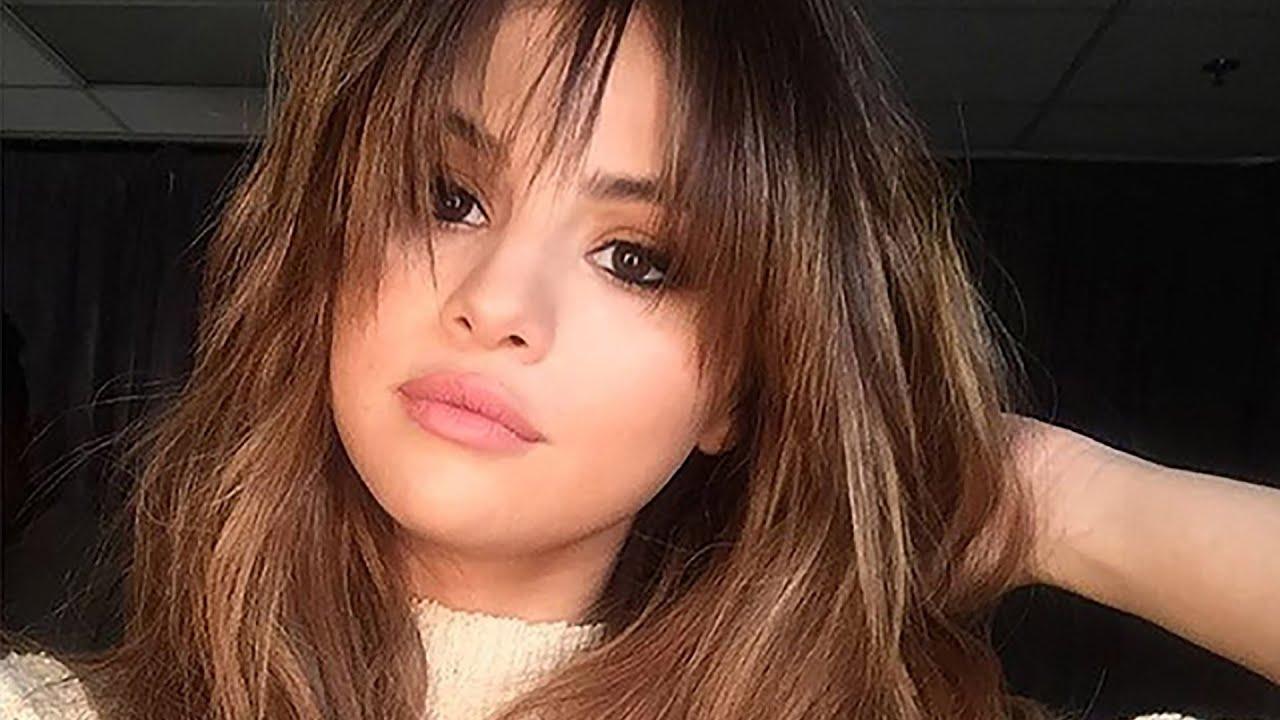 Selena Gomez Rocks New Lighter Summer Do With Bangs Youtube