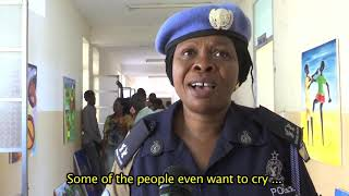 UNMISS POLICE SUPPORT ART EXHIBITION TO COMBAT SEXUAL AND GENDER BASED VIOLENCE