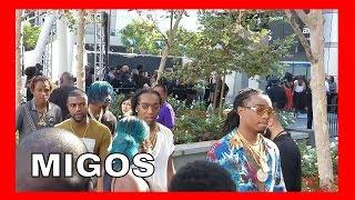 Migos BET Awards Red Carpet Arrivals