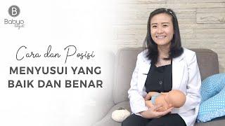 Babyo Tips with dr. Elizabeth: Cara dan Posisi Menyusui yang Baik dan Benar