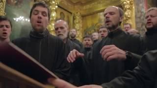 Репортаж о богослужении в Троице-Сергиевой Лавре