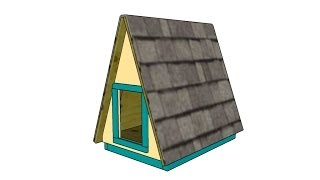 A-Frame Dog House