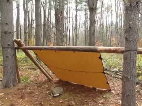 Tentsmiths Oilskin Tarp & Tentsmiths Oilskin Tarp - YouTube