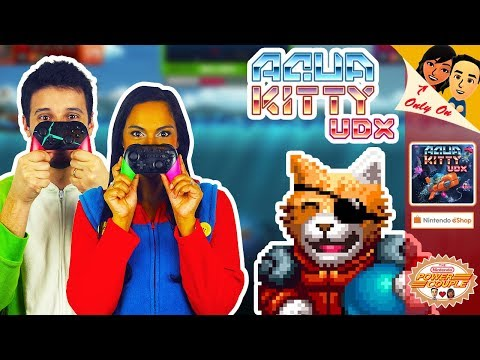 AQUA KITTY UDX Co-op Gameplay: Let's Play [Funsies in Our Onesies] for the Nintendo Switch