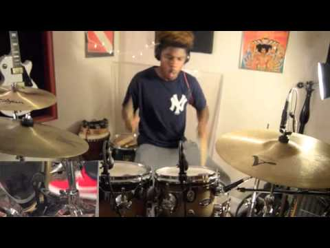 Imagine Dragons Gold Drum Cover By Michael Silver