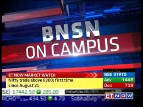 ET Now at MET Campus, Mumbai