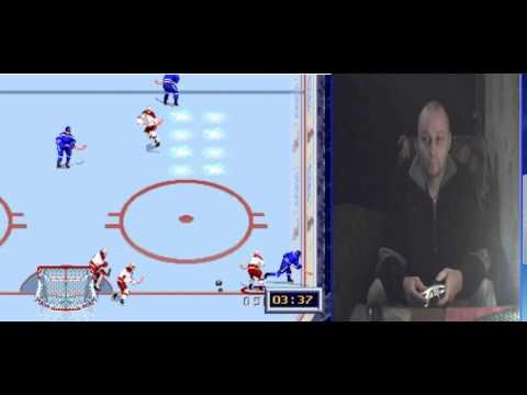 Sega mega drive 2 NHL All Star Hockey