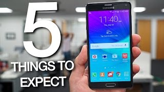 Samsung Galaxy Note 5: Five Things to Expect