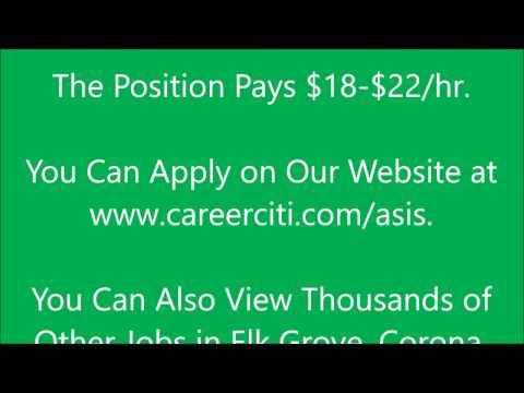 Work from Home Jobs Elk Grove, Corona, Lancaster, Palmdale California CA. Job Rate $18 - $22/hr
