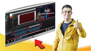 Урок   как сделать эффект проигрывания видео