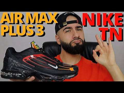 Tuned Air Take 3 Nike Air Max Plus 3 Tn Blood Orange Black