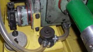 токарный станок ИТ 1М - капремонт  - часть 3 - сборка